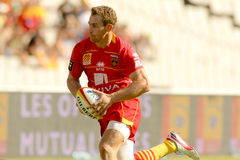Gavin Hume of USAP Perpignan Stock Photos