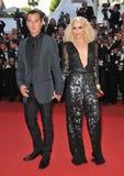 Gavin Rossdale, Gwen Stefani royaltyfri foto