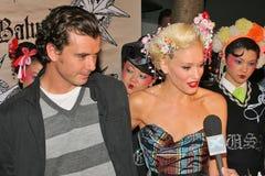 Gavin Rossdale, Gwen Stefani Fotografia Stock
