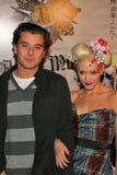 Gavin Rossdale,Gwen Stefani Royalty Free Stock Image