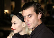 Gavin Rossdale and Gwen Stefani Stock Photo