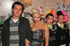 Gavin Rossdale,Gwen Stefani Royalty Free Stock Images