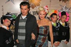 Gavin Rossdale, Gwen Stefani Stock Photography