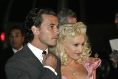 Gavin Rossdale and Gwen Stefani Royalty Free Stock Photos