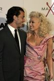 Gavin Rossdale and Gwen Stefani Stock Photography
