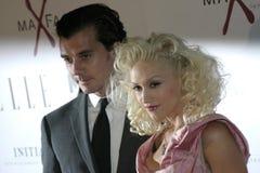 Gavin Rossdale and Gwen Stefani Stock Photo
