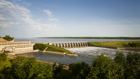 Gavins Point Dam Stock Image