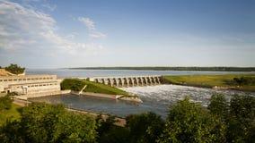 Gavins Point Dam Stock Image