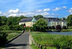 Gavno城堡, Naestved,丹麦 免版税图库摄影