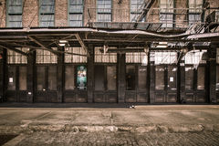 Gavsevoort Street Meatpacking NYC Royalty Free Stock Photography