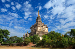 Gaw Daw Palin temple, Bagan,Myanmar Royalty Free Stock Images