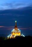Gawdawpalin pagoda at twilight in Bagan, Myanmar Stock Photo