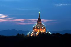 Gawdawpalin pahto in Bagan, Myanmar Stock Photos