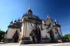 Gawdawpalin-Tempel Bagan myanmar Lizenzfreies Stockbild