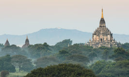 Gawdawpalin temple, Myanmar royalty free stock photo