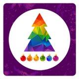 Gay christmas-14 illustrazione di stock