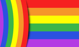 The gay colors Stock Images