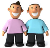 Gay couple Stock Image