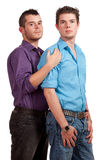 Gay Couple Royalty Free Stock Photo