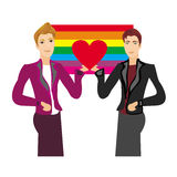 Gay Couple Stock Images