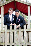 Gay Couple - Just Married Royalty Free Stock Images