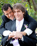 Gay Couple in Love Stock Photos