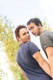 Gay couple Stock Image