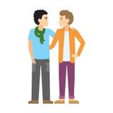 gay couple. Stock Photo