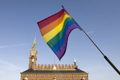 Gay Flag Royalty Free Stock Photos