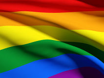 Gay flag Royalty Free Stock Images