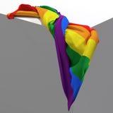 Gay flag Stock Photography