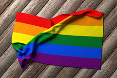 Gay flag Royalty Free Stock Photography