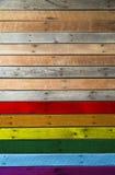 Gay flag Royalty Free Stock Image