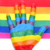 Gay hand Royalty Free Stock Photo