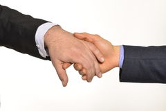 Gay hand by hand Royalty Free Stock Photography