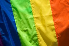 Gay and lesbian flag Stock Image