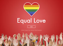 Gay LGBT Equal Rights Homosexuality Concept Stock Image