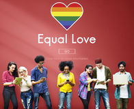 Gay LGBT Equal Rights Homosexuality Concept Royalty Free Stock Images