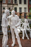 Gay Liberation by American artist George Segal, located in Chris Royalty Free Stock Image