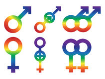 Gay logo, icon Royalty Free Stock Photos