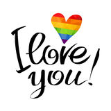 Gay Love Letters Royalty Free Stock Photo