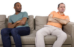 Gay Lover Quarrell Stock Photography