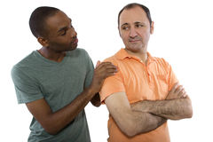 Gay Lovers Problems Stock Photos