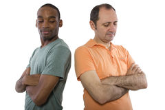 Gay Lovers Quarrell Stock Photography