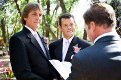 Gay Marriage - Lifetime Commitment Royalty Free Stock Photo