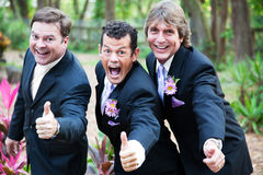 Gay Marriage Thumbs Up Stock Images
