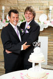 Gay Marriage - Wedding Reception Stock Photo