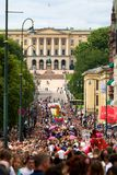 Gay parade Oslo Stock Images