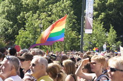 Gay parade Oslo Royalty Free Stock Photography