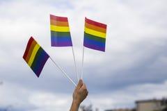 Gay Parade in the park Royalty Free Stock Photos